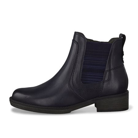 Tamaris Lorca Chelsea Boot Navy  - Click to view a larger image