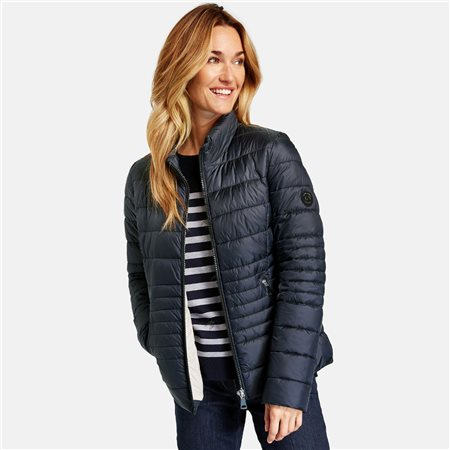 Gerry Weber Quilted Jacket Navy  - Click to view a larger image