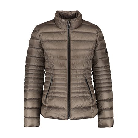 Gerry Weber Quilted Jacket Taupe  - Click to view a larger image