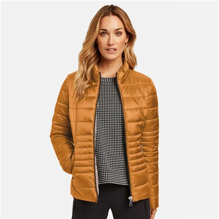 Gerry Weber Quilted Jacket Honey  - Click to view a larger image