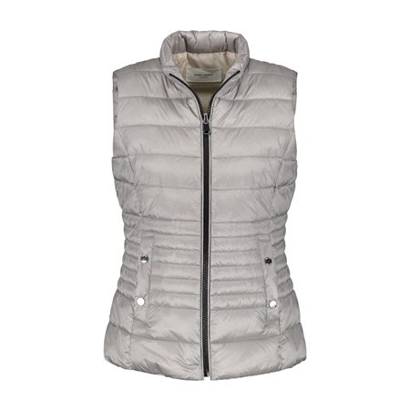 Gerry Weber Quilted Body Warmer Silver  - Click to view a larger image