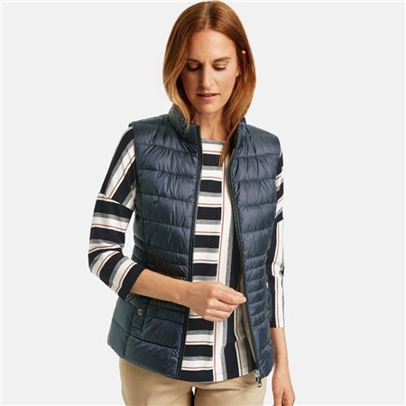 Gerry Weber Quilted Body Warmer Navy  - Click to view a larger image