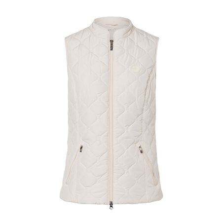 Olsen Quilted Gilet Cream  - Click to view a larger image