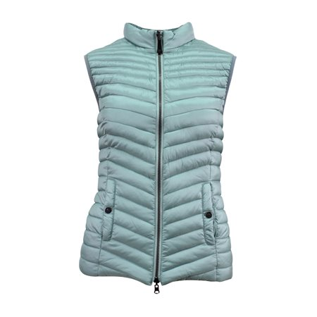 Lebek Quilted Gilet Aqua  - Click to view a larger image
