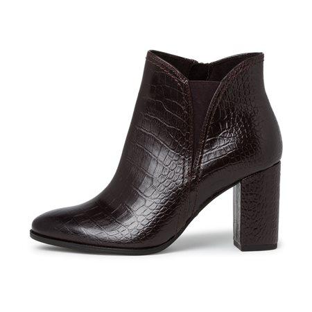Tamaris Puerto High Heel Boot Mocha  - Click to view a larger image