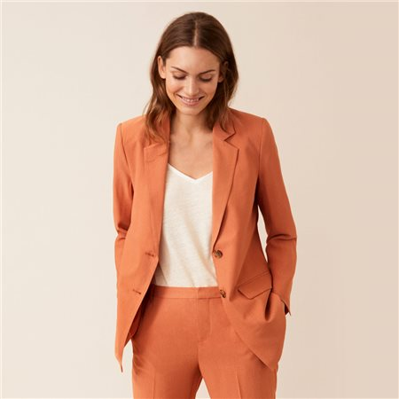 Part Two Dian Blazer Rust  - Click to view a larger image