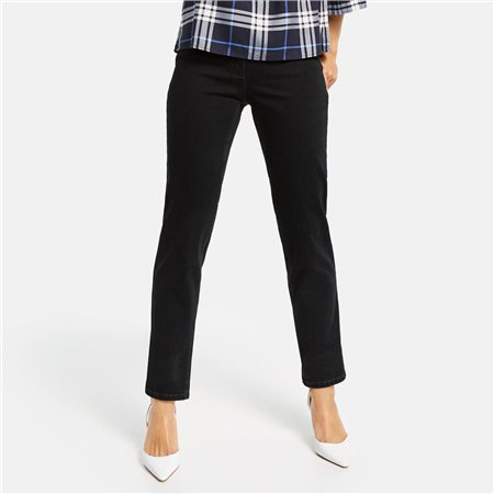 Gerry Weber Romy Straight Fit' Jean Dark Blue  - Click to view a larger image