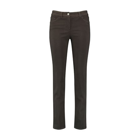 Gerry Weber Best 4 Me 'slim Fit' Jean Brown  - Click to view a larger image