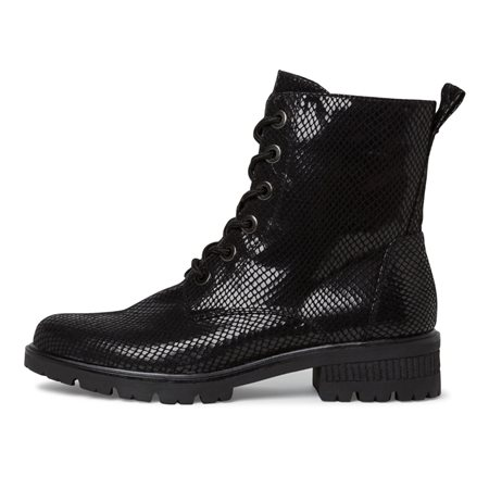 Tamaris Mataro Lace Boot Black  - Click to view a larger image