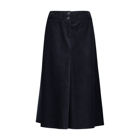 Gerry Weber Cord Skirt Navy  - Click to view a larger image