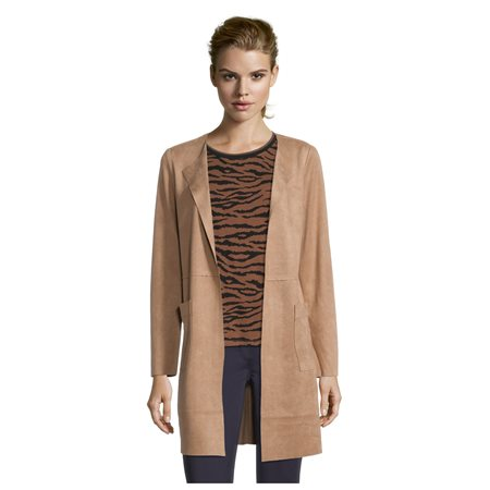 Betty Barclay Longline Blazer Camel  - Click to view a larger image