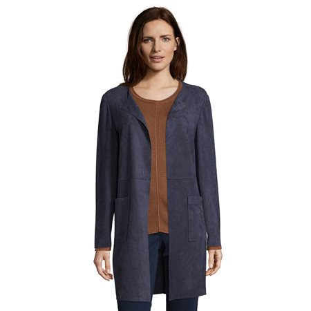 Betty Barclay Longline Blazer Navy  - Click to view a larger image
