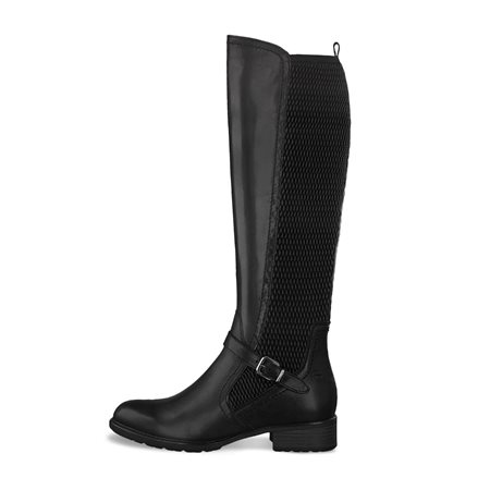Tamaris Toro Knee High Boot Black  - Click to view a larger image