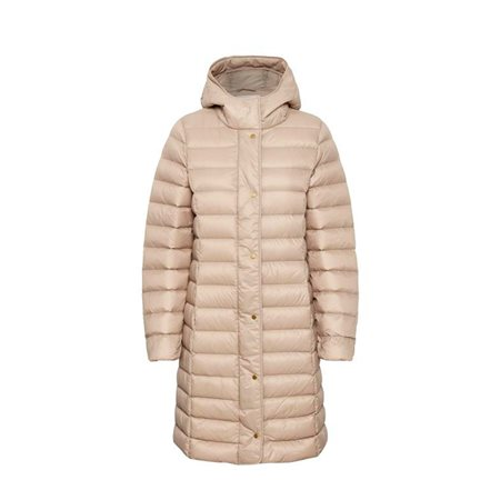 Part Two Eldina Down Padded Coat Beige  - Click to view a larger image