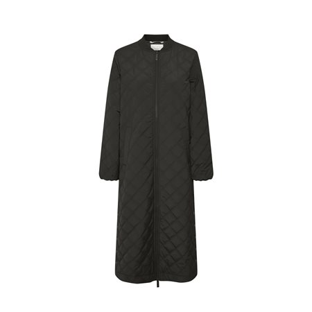 Part Two Edith Long Coat Black  - Click to view a larger image