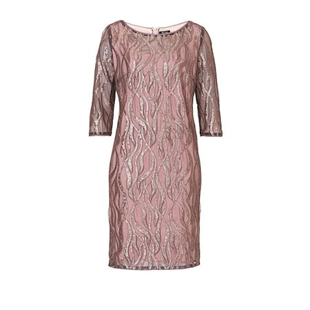 Vera Mont Sequin Dress  - Click to view a larger image