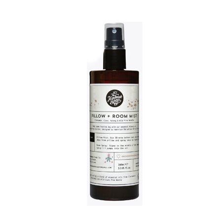 The Handmade Soap Company Cinnamon Clove Nutmeg & Pine Room Spray White  - Click to view a larger image