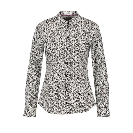 Gerry Weber Classic Printed Shirt Black  - Click to view a larger image