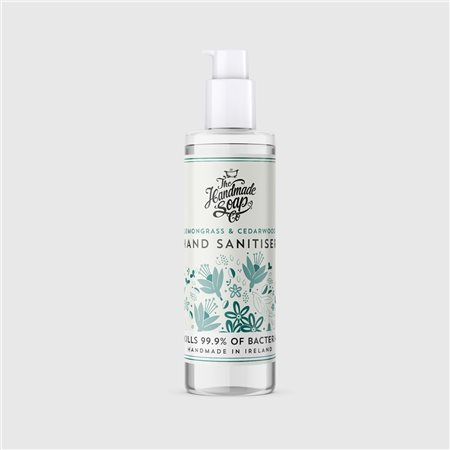 The Handmade Soap Company Hand Sanitiser 100ml White  - Click to view a larger image