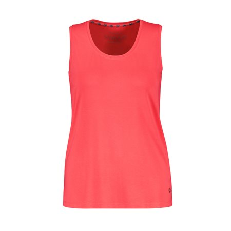 Samoon Vest Top Coral  - Click to view a larger image