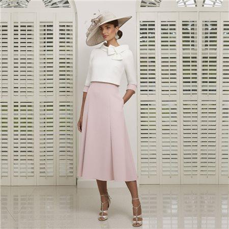 Ronald Joyce 991516 Dress And Jacket Blush  - Click to view a larger image