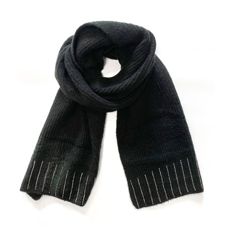 Gerry Weber Scarf With Sequin Detail Black  - Click to view a larger image