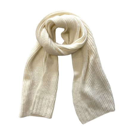 Gerry Weber Scarf With Sequin Detail Cream  - Click to view a larger image