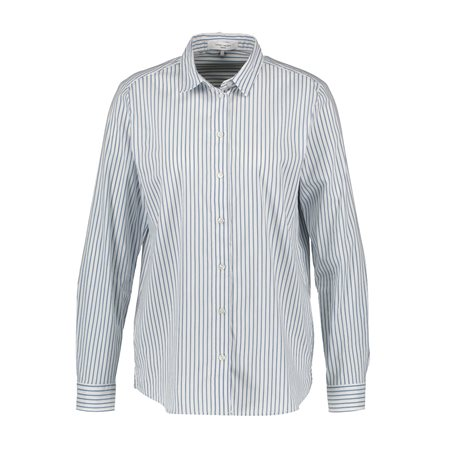 Gerry Weber Classic Stripe Shirt Blue  - Click to view a larger image