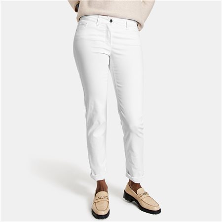 Gerry Weber Best 4 Me Slim Fit Jean White 1