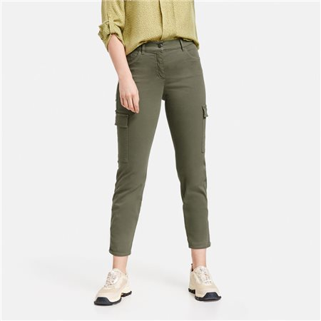 Gerry Weber Best 4 Me Cargo Trousers Khaki 1