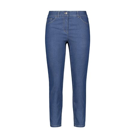 Gerry Weber Best4me 7/8 Crop Jeans Indigo  - Click to view a larger image