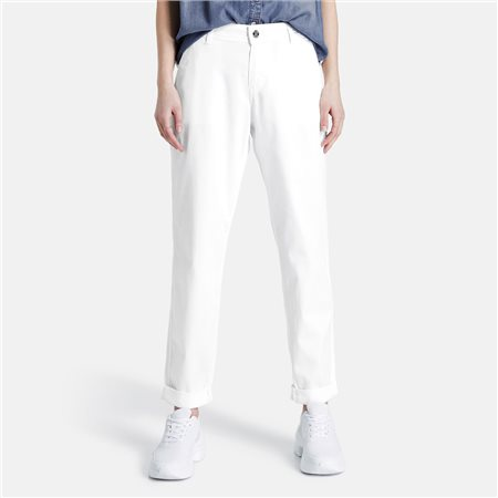 Taifun 7/8 Chinos Off White  - Click to view a larger image