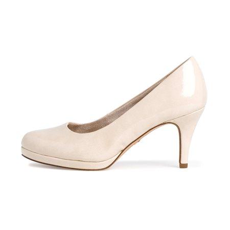 Tamaris Ava Court Shoe Cream  - Click to view a larger image