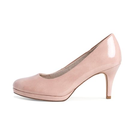 Tamaris Ava Court Shoe Rose  - Click to view a larger image