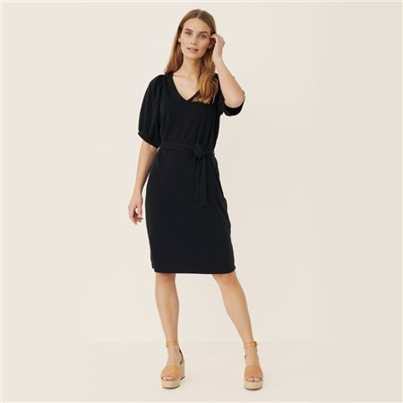 Part Two Hamida Jersey Dress Black  - Click to view a larger image