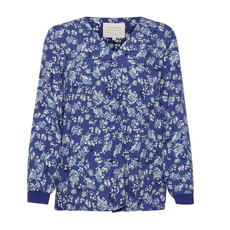 Part Two Pax Floral Print Blouse Blue  - Click to view a larger image
