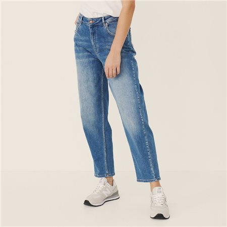 Part Two Hela Ankle Length Jeans Denim Blue  - Click to view a larger image