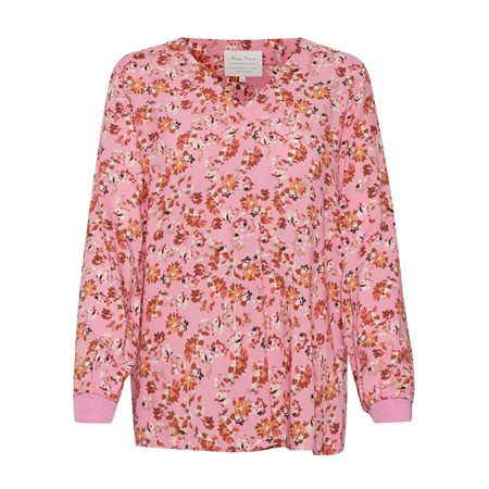 Part Two Pax Floral Print Blouse Pink  - Click to view a larger image