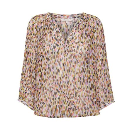 Part Two Erdonae Printed Blouse Pink  - Click to view a larger image