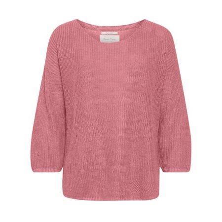 Part Two Cetrona Linen Knit Pink  - Click to view a larger image
