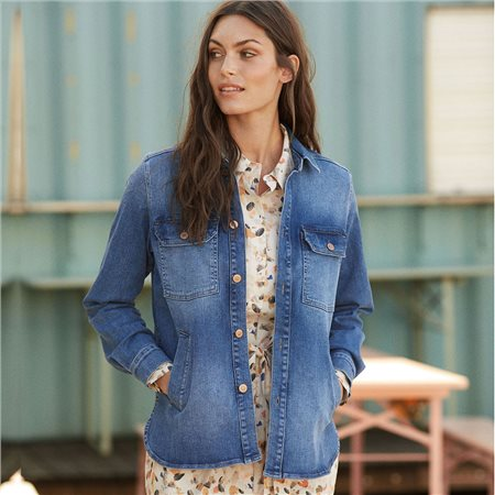 Part Two Hilborg Denim Jacket Blue  - Click to view a larger image