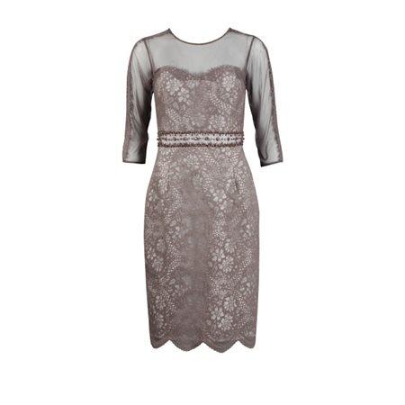 Zeila Grape Lace Dress  - Click to view a larger image