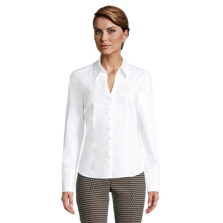 Betty Barclay Classic Tailored Blouse White  - Click to view a larger image