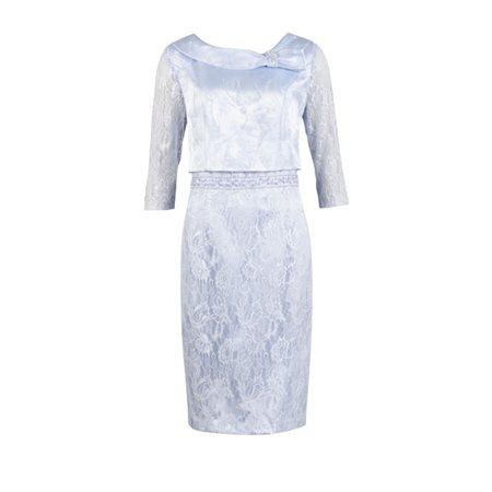 Pale Blue Lace Dress 22