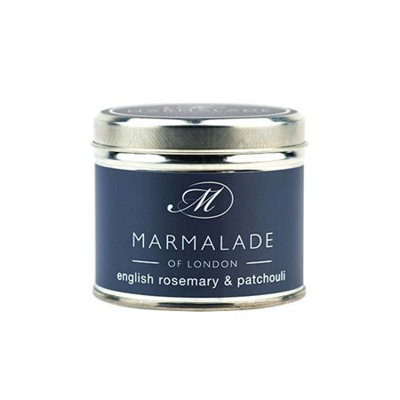 Marmalade Of London English Rosemary & Patchouli Medium Tin Candle  - Click to view a larger image