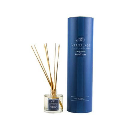 Marmalade Of London Bergamot & Soft Rose Reed Diffuser  - Click to view a larger image