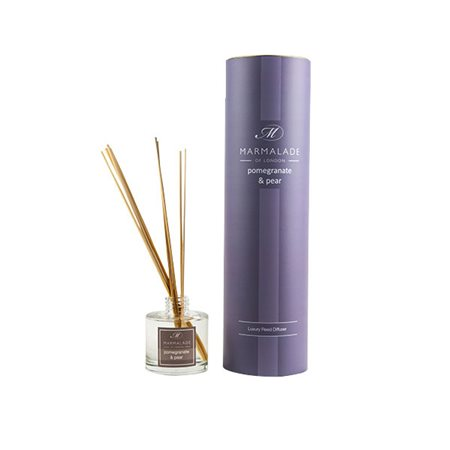 Marmalade Of London Pomegranate & Pear Reed Diffuser  - Click to view a larger image