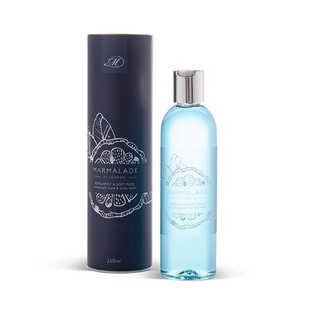 Marmalade Of London Bergamot & Soft Rose Hand & Body Wash  - Click to view a larger image