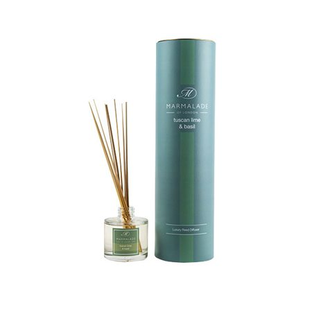 Marmalade Of London Tuscan Lime & Basil Reed Diffuser  - Click to view a larger image