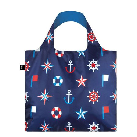 Loqi Bag Nautical Classic Navy  - Click to view a larger image